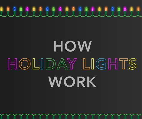 how do christmas lights work best 28 how do christmas lights work battery operated