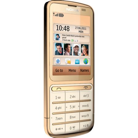 Hp Nokia C3 01 Gold Edition nokia c3 01 gets the midas touch gold edition announced bgr india
