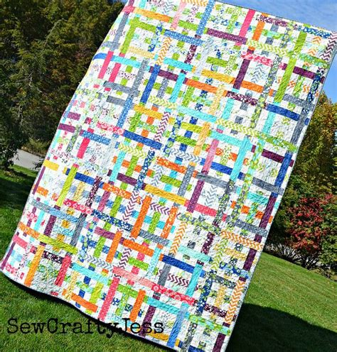 quilting tutorial pinterest simply woven quilt tutorial by sewcraftyjess via flickr