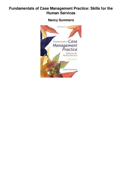 fundamentals of management practice skills for the human services fundamentals of management practice skills for the