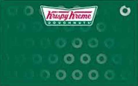 Krispy Kreme Gift Card Balance - krispy kreme gift card balance gift ftempo