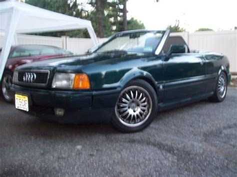 how does cars work 1996 audi cabriolet user handbook find used 1996 audi cabriolet rims tv s very nicely done 146k in pompton lakes new jersey