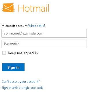 sign in hotmail image gallery hotmail login in account