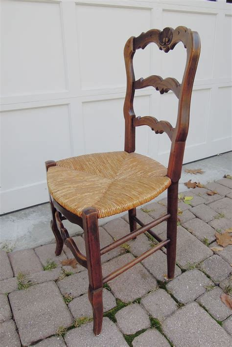 ladder back chairs seats set of six vintage carved ladder back chairs with