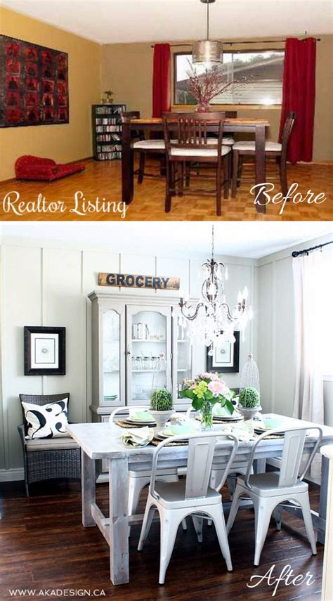 Easy Room Makeover easy and budget friendly dining room makeover ideas hative