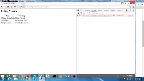 tutorial jsp css jsp cannot load bootstrap from local folder using jersey