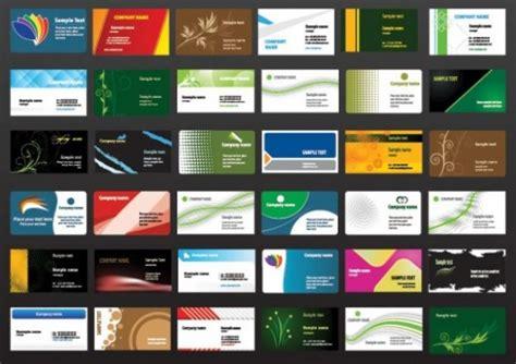 Visitenkarten Design Vorlagen Kostenlos Windows Riesige Packung Visitenkarten Vorlage Der Kostenlosen Vektor