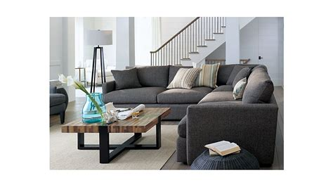 Crate And Barrel Lounge by Lounge Ii 3 Sectional Sofa Crate And Barrel