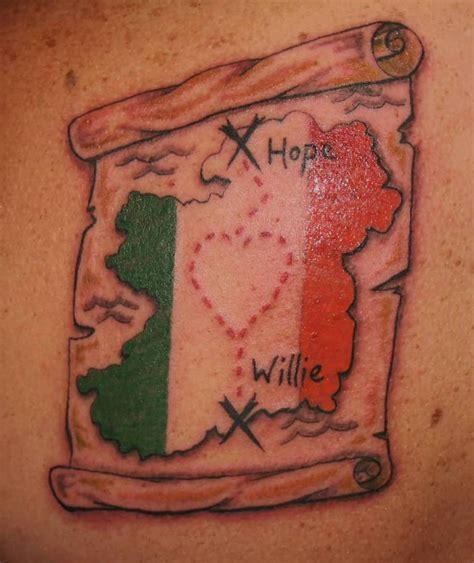 irish flag tattoo designs flag ideas and flag designs