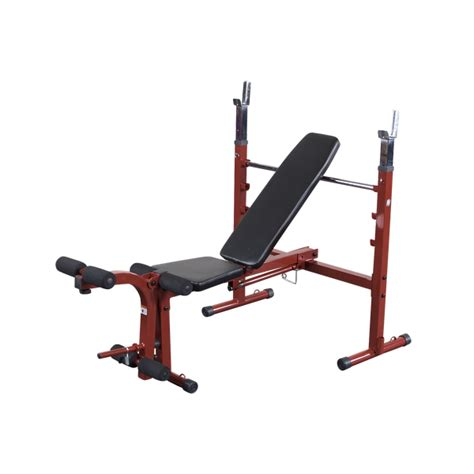 gdib46l powercenter combo bench bfob10 best fitness olympic bench body solid fitness