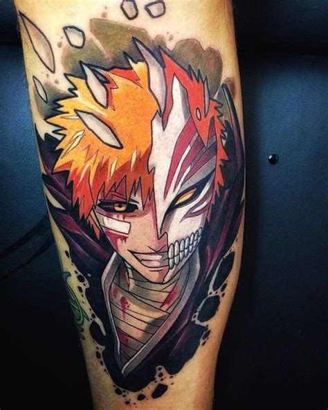 bleach tattoos 1 037 likes 5 comments 1 page about gaming tattoos