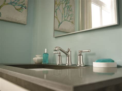 Moen Bathrooms by New Moen 174 Dartmoor Bath Suite Provides Fresh Take On