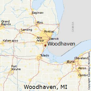 best places to live in woodhaven michigan