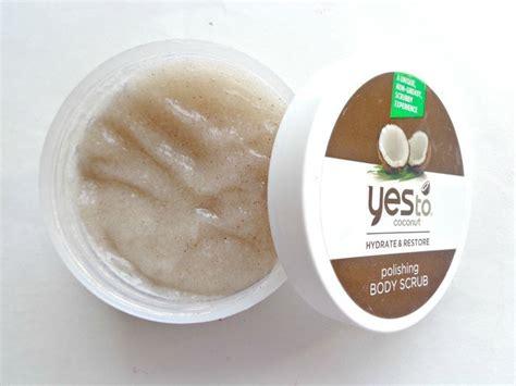 Scrub Yesnow yes to coconut hydrate restore polishing scrub review