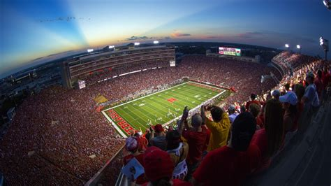 stadium security increased for huskers hawkeyes nebraska