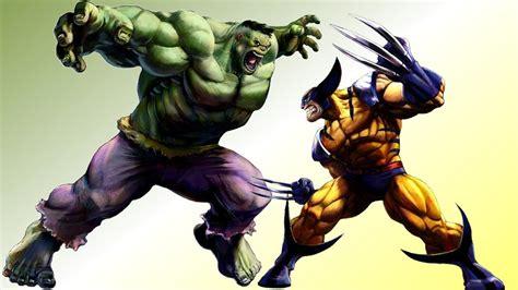 imagenes de hulk vs wolverine en real c506 la carta bajo la manga de marvel comics se