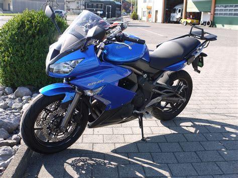 Motorrad Kawasaki Er 6f by Motorrad Occasion Kaufen Kawasaki Er 6f Blau Kurt Gmbh