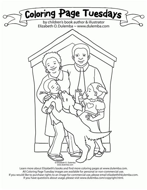 Coloring Page Tuesdays by Family Coloring Pages Coloring Home