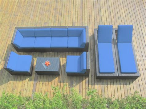 couch and chaise lounge set ohana collection outdoor sectional sofa chaise lounge set