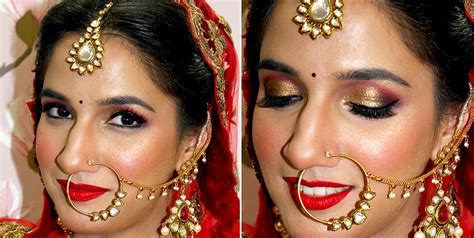 best bridal makeup in delhi vidya tikari makeup artist makeup by artist vidya tikari bridal makeup artist in