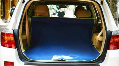 Pet Travel Cargo Best In Show iconic pet furrygo pet cargo cover for suv navy