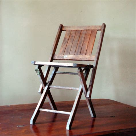 vintage wooden folding chairs vintage wood folding chair fold up