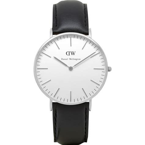 Daniel Wellington Classic Sheffield 36mm Silver Black 0608dw daniel wellington watches2u