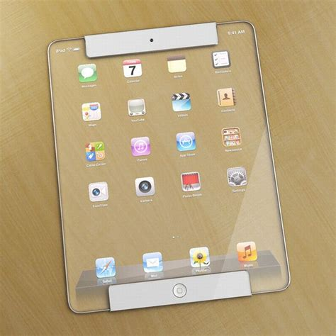Designer Pad by Futuristic Transparent Ipad Concept Blew My Mind Video