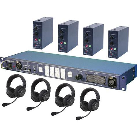 Harga Clearcom Wireless datavideo itc100hp2k itc 100 wired intercom system