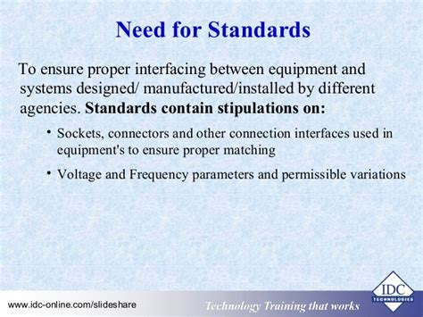 practical electrical wiring standards national for