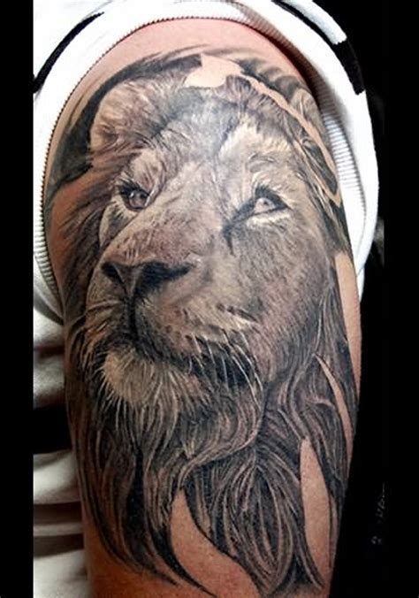 black lion tattoo designs 75 shoulder tattoos
