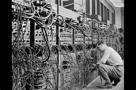 Eniac First Generation Of Computer 1940 1959 Ict Learning
