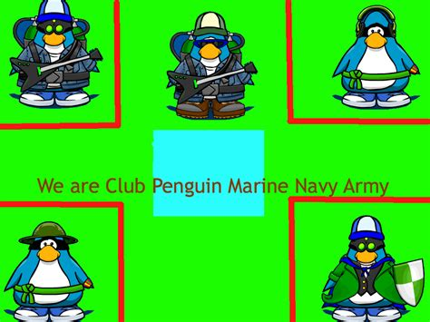 Cp Flag Navy uncategorized club penguin marine navy army