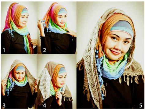 Cara Jilbab An Segi Empat cara memakai jilbab segi empat modern dengan mudah cara cara terbaru