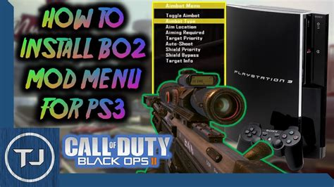 how to install cod patches mod menus using multiman tutorial ps3 how to install cod bo2 mod menu jerichoengine o