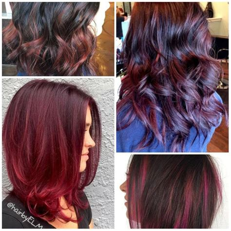 black cherry color best 25 cherry hair colors ideas on
