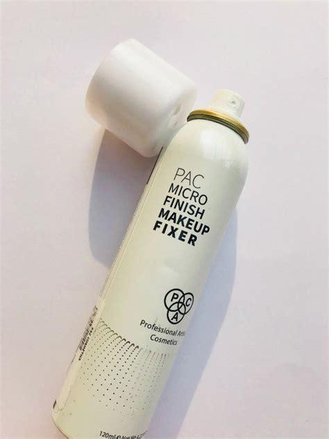 Makeup Pac pac micro finish makeup fixer review