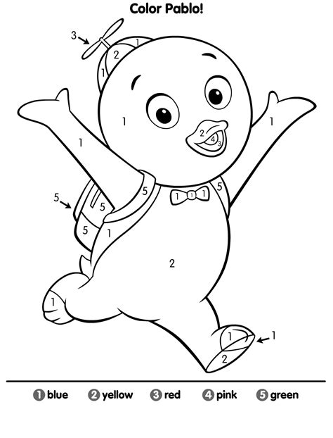 nick jr backyardigans coloring pages nickelodeon backyardigans pages coloring pages