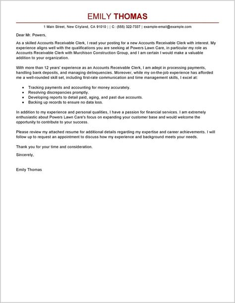 accounts payable cover letter australia cover letter