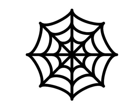 Spider S Web Templates Halloween Google Search Art And Craft Pinterest Spider Web Template
