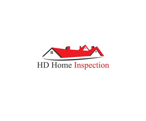 logo design for hd home inspection by creative