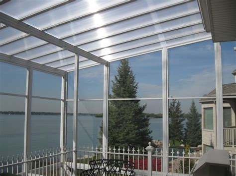 Clear Patio Roof by Clearvue Roofing The Is Covered Using Psp