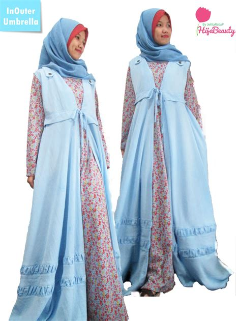 Kaos Baju Umbrella Corporation 1 jual inouter umbrella set gamis inner outer gamis