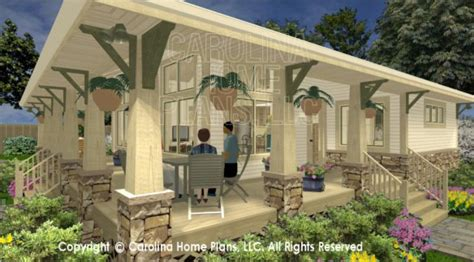 side porch house plans 3d bungalow side view joy studio design gallery best