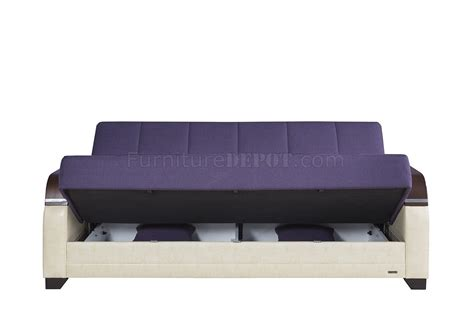 dark purple couch la reina sofa bed in dark purple fabric by casamode w options