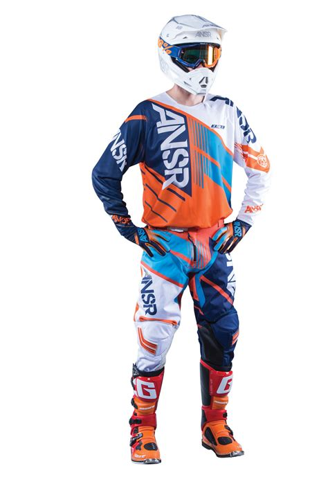 Ktm Gear Answer New 2016 Mx Elite Jersey Ktm Orange Cyan