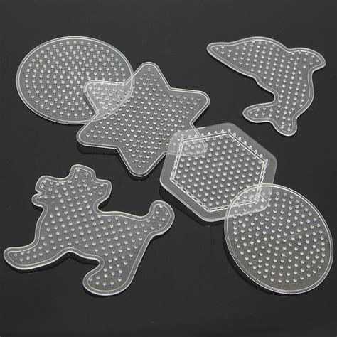 beading diy cheapest clear 9 pattern template fuse hama diy