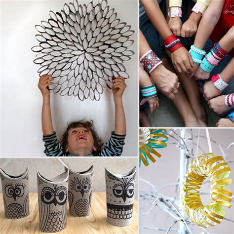 What Can U Make With Paper - nine cool crafts you can make with toilet paper rolls