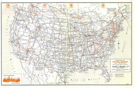 rand mcnally road map usa roadtrip 62 us highway systems present past and present