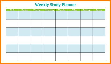 study timetable template 8 study timetable template new tech timeline